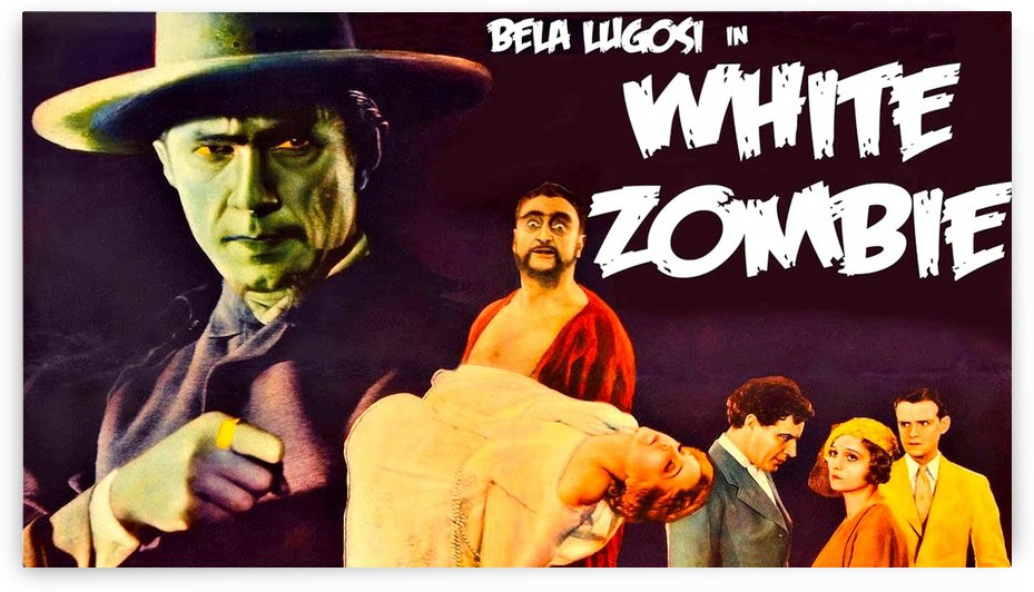 White Zombie 1932 Poster 3 by Culturio