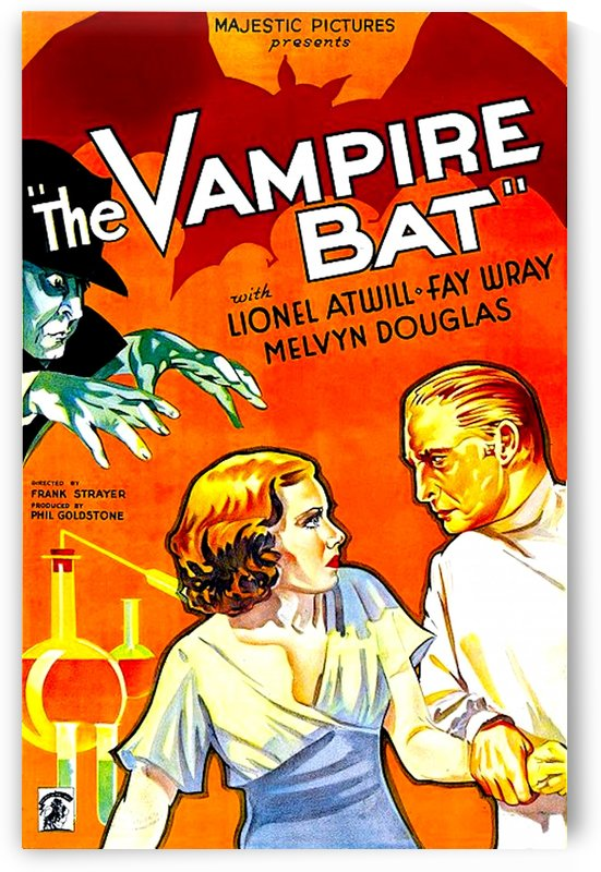 The Vampire Bat 1933 Poster 1 by Culturio