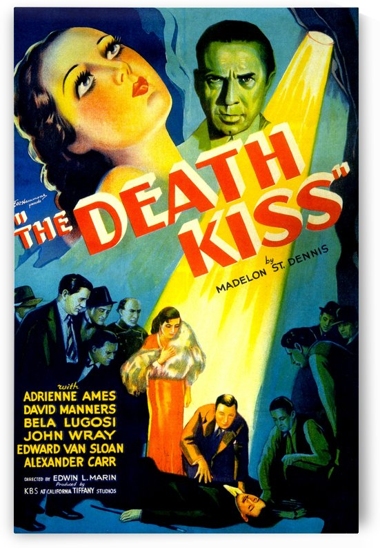 The Death Kiss 1932 by Culturio