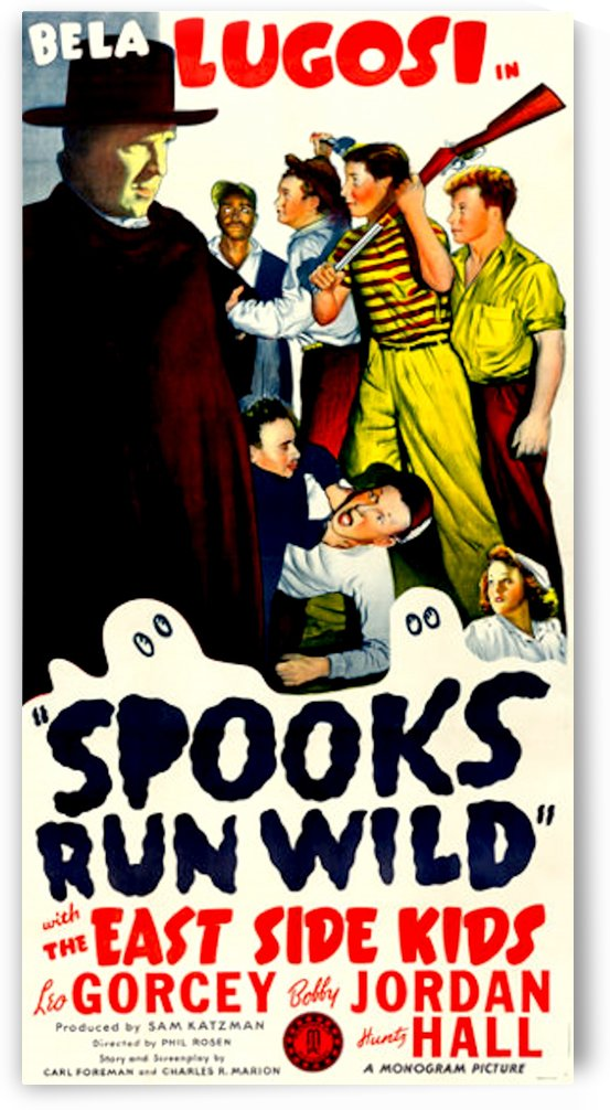 Spooks Run Wild 1941 Poster 2 by Culturio