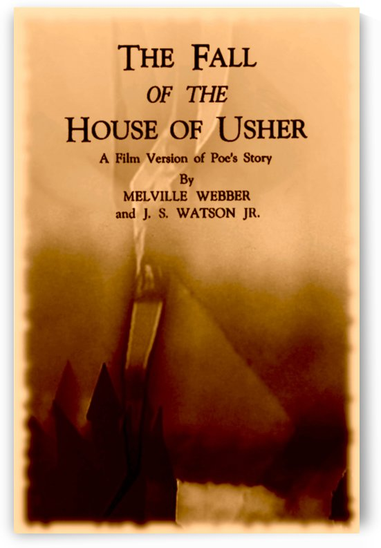 The Fall of the House of Usher 1928 by Culturio
