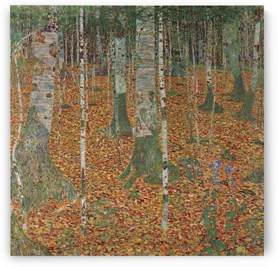 Birch Forest by Klimt by Klimt