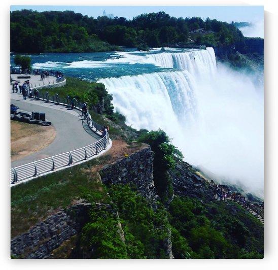 Waterfall  by  Jade Renteria