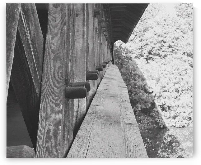 Black and White bridge  by  Jade Renteria