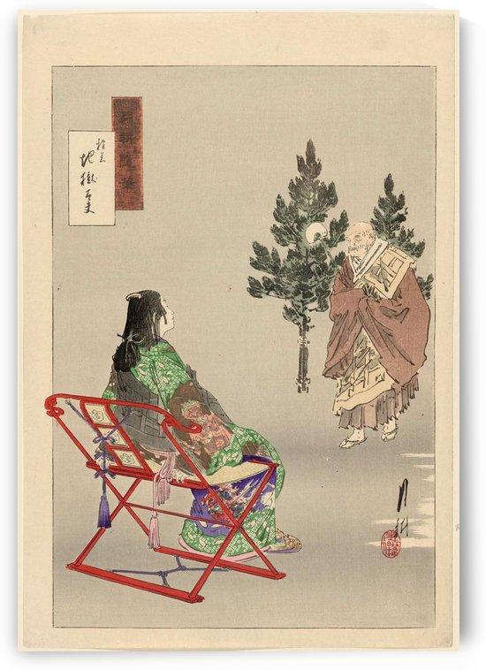 Courtesan Jigoku-dayu by Ogata Gekko