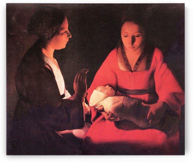 Birth of Christ by La Tour by La Tour