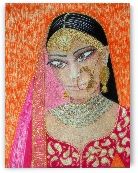 Hindu Beauty by Jayne Somogy