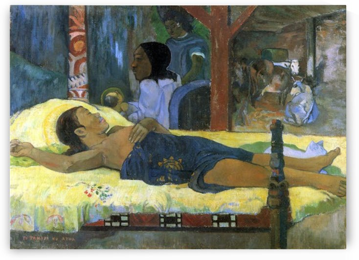 Birth of Christ Son of God Tetemari by Gauguin by Gauguin