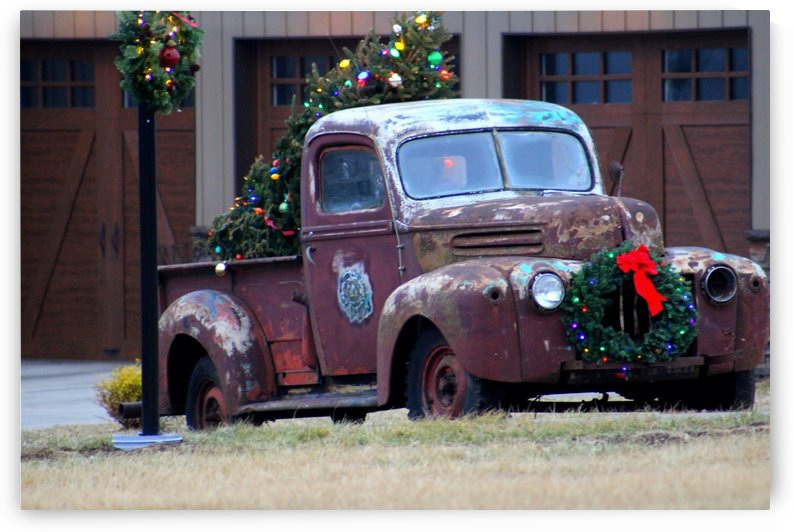 Christmas Truck by Natures Alchemy Captured