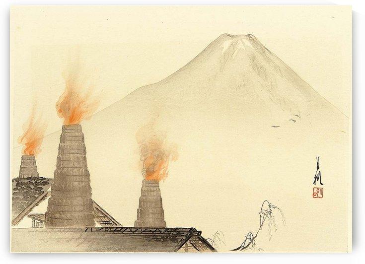 Chimneys by Ogata Gekko