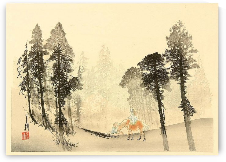In the Forest by Ogata Gekko