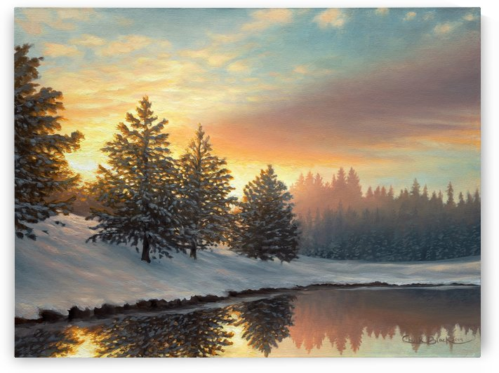 CANVAS Quiet Morning by CRB