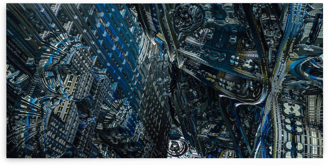 Evoriaz city  by Jean-Francois Dupuis
