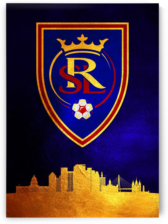 Real Salt Lake Blue by ABConcepts