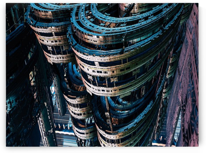 Albanez city  by Jean-Francois Dupuis