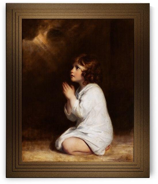 The Infant Samuel by Joshua Reynolds by xzendor7