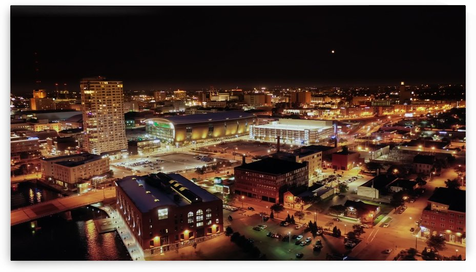 Milwaukee Shine Bright by Aximagery Media
