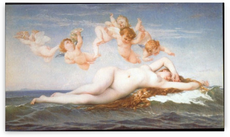 Birth of Venus by Cabanel by Cabanel