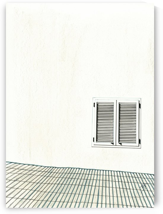 Louvered Window by RandDesign