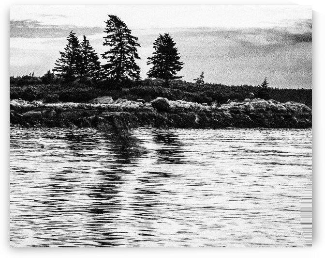On the Way to Vinalhaven 4 by Dave Therrien