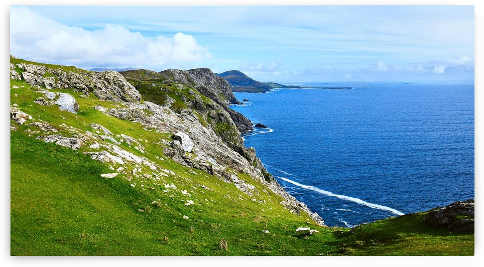 Donegal Coastline by Lexa Harpell