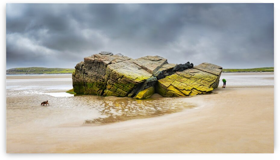 Rock Formations - Maghera Beach 5 by Lexa Harpell