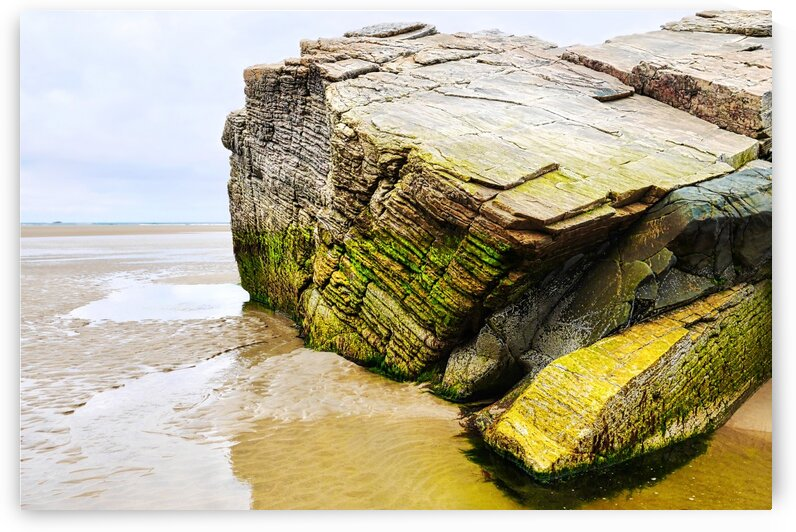 Rock Formations - Maghera Beach 10 by Lexa Harpell