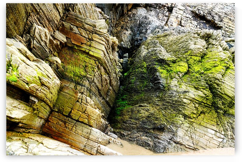 Rock Formations - Maghera Beach 4 by Lexa Harpell
