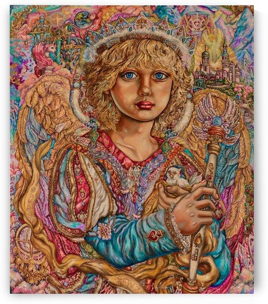 Yumi Sugai. Prince Hodiel of the angel . by Yumi Sugai
