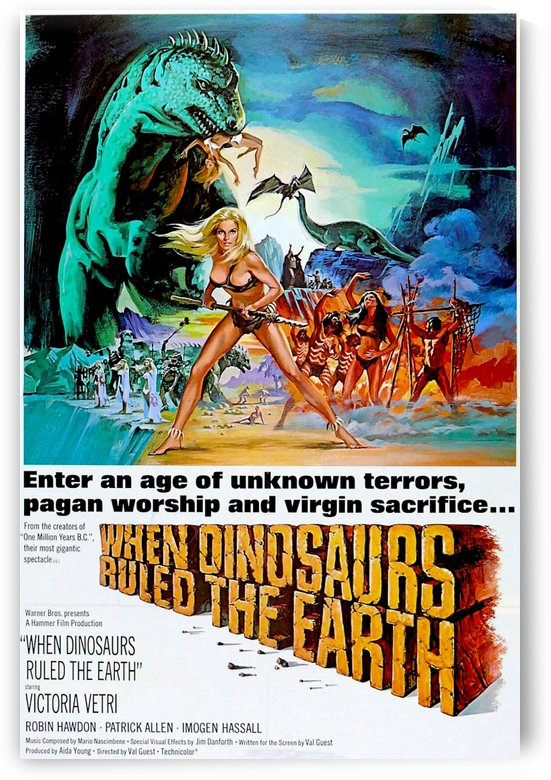When Dinosaurs Ruled the Earth 1970 by Culturio