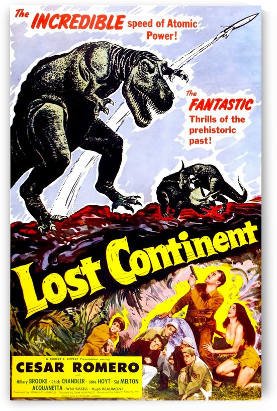 Lost Continent 1951 by Culturio