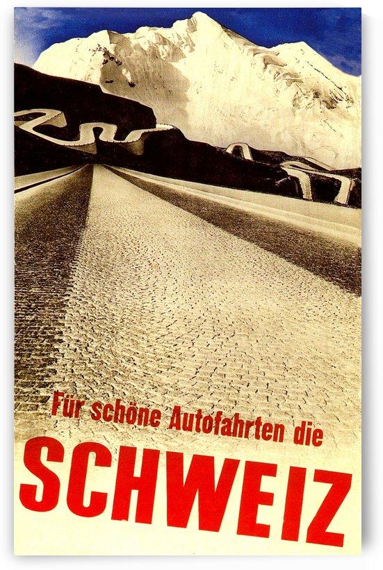 Vintage Travel - Schweiz by Culturio