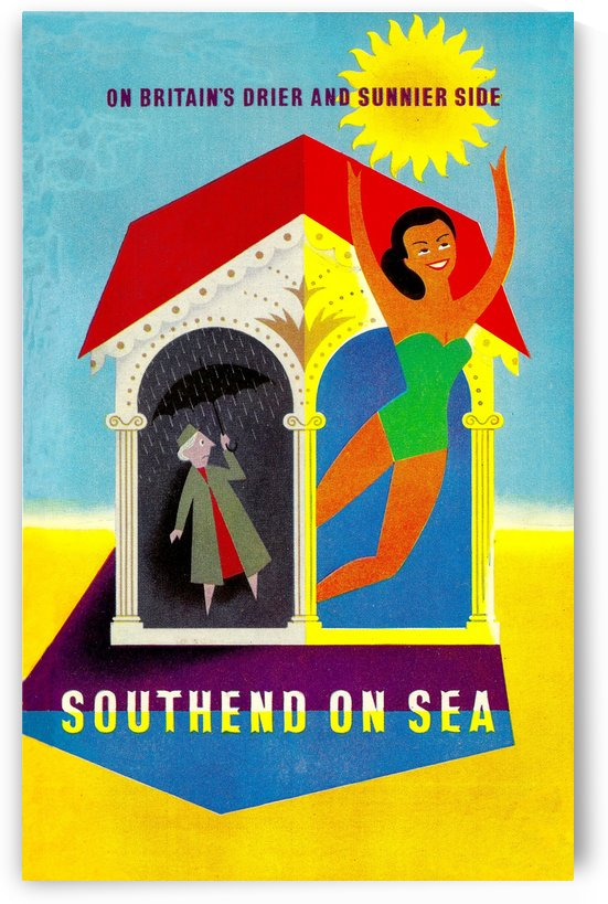 Vintage Travel - Southend on Sea by Culturio