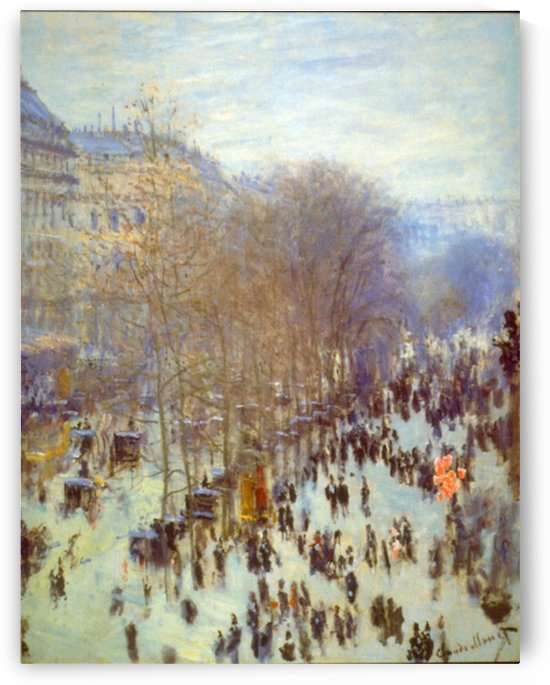 Boulevard Capucines by Monet by Monet