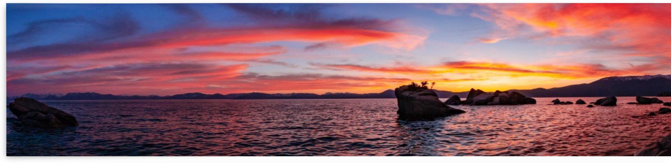 Panoramic Sunset by Steve Habovstak