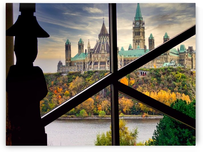 Parliament Buildings Ottawa by Robert Knight