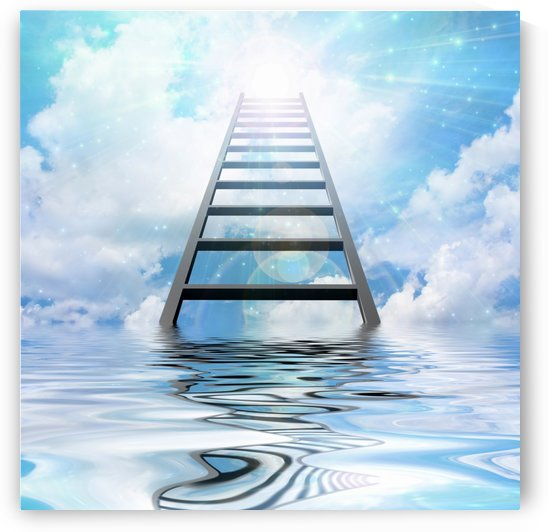 Ladder to the Sky by Bruce Rolff