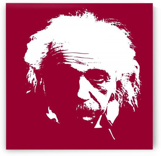 Albert Einstein by Matthew Lacey