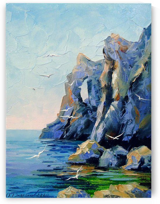 Rocky shore  by Olha Darchuk