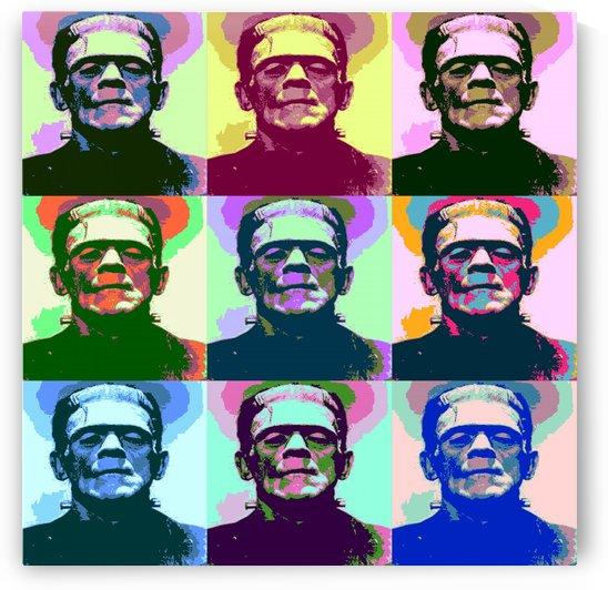 Frankenstein Pop Art by Matthew Lacey
