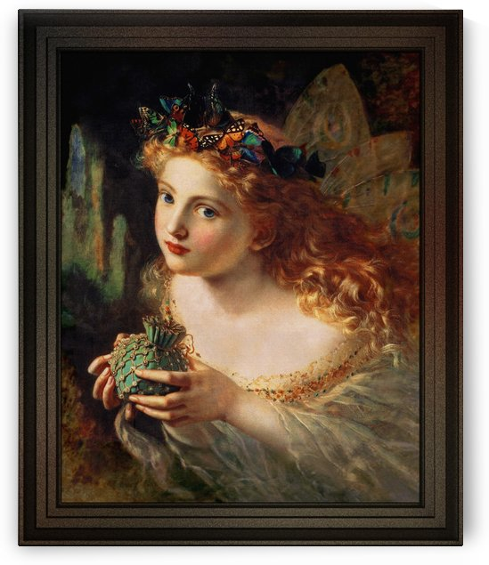 A Fairy Is Made Of Most Beautiful Things by Sophie Gengembre Anderson by xzendor7
