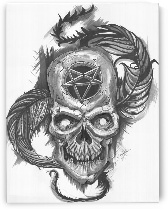 skull by Shanrekia Bower