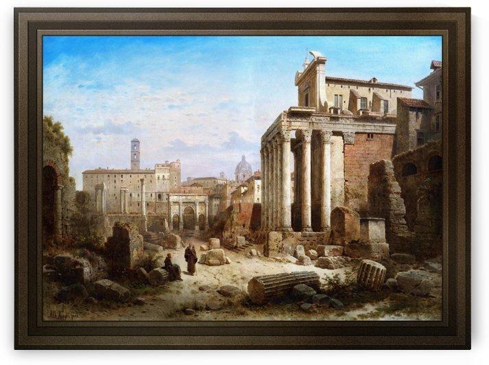 Forum Romanum by Albert Rieger by xzendor7