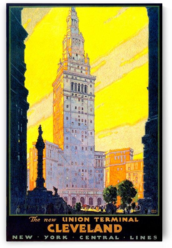 Vintage Travel - Cleveland by Culturio