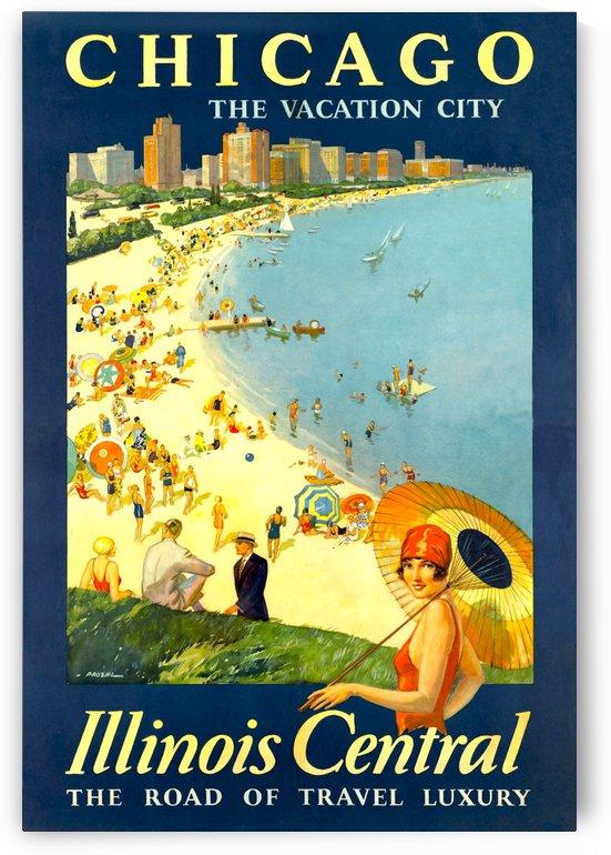 Vintage Travel - Chicago by Culturio