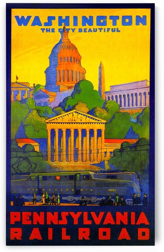 Vintage Travel - Washington by Culturio