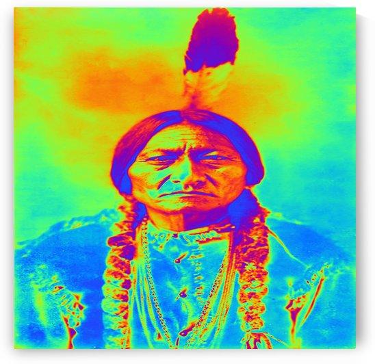 Sitting Bull by Matthew Lacey