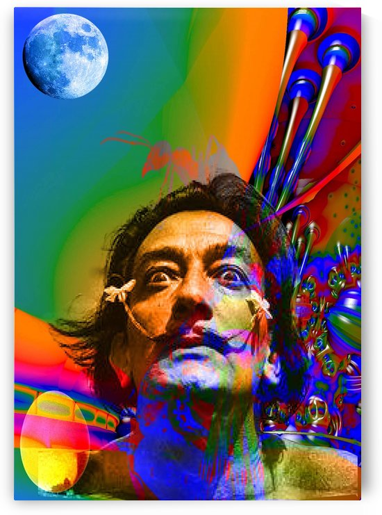 Dream of Salvidor Dali by Matthew Lacey