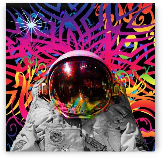 Astronaut Time Warp by Matthew Lacey