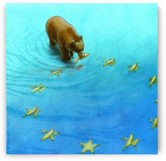 gold fishes by Pawel Kuczynski